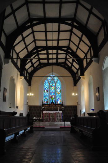 The interior of Middleton Church