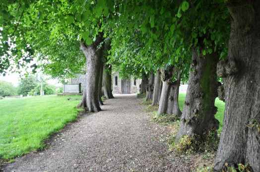 Pathway to Bulmer Church
