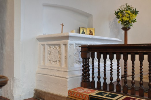 The tomb of Edmund and Frances Felton dated 1542