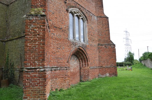 The tower at Wickham St Paul Church, Essex